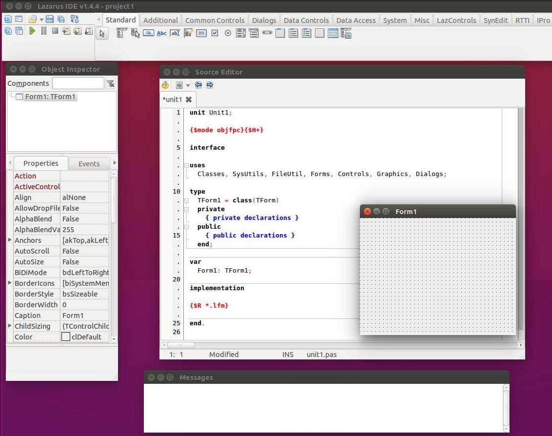 Lazarus Scientific Linux 7 Install Guide - Lazarus IDE on Scientific Linux Desktop
