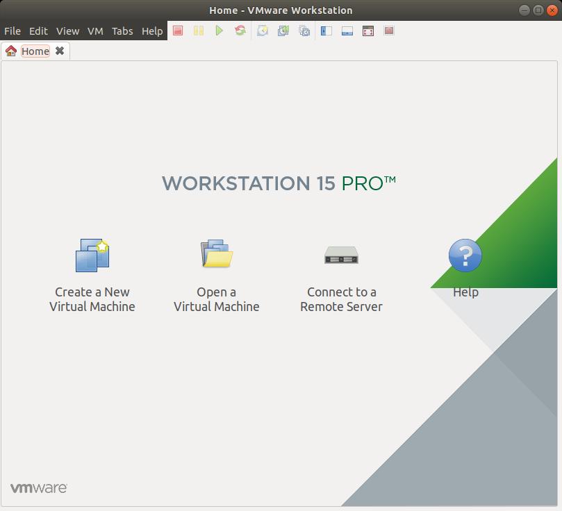 Kali Linux Install VMware Workstation 15 Player - VMware Workstation Player 15 GUI