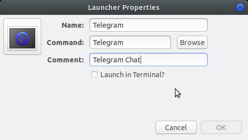 How to Create Menu Launcher Ubuntu Gnome - Setting Icon