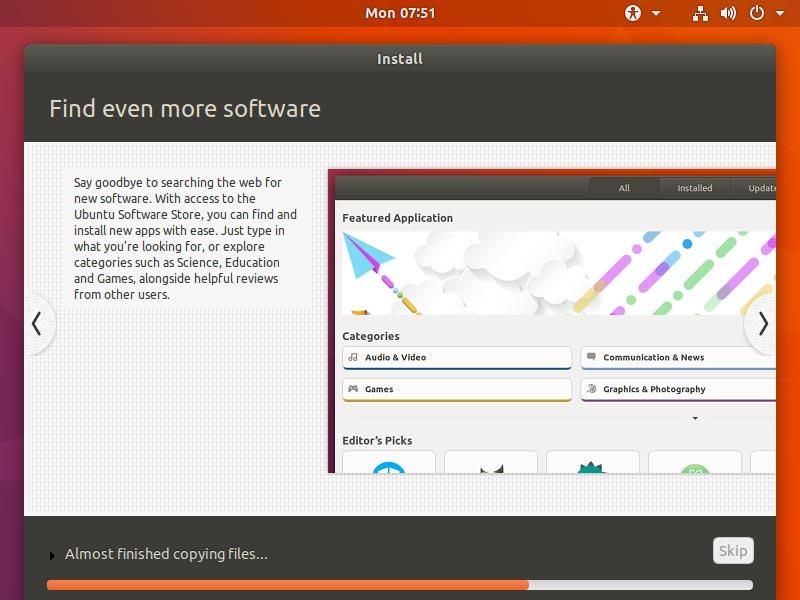 How to Install Dual Boot for Windows 10 and Ubuntu 17.10 Artful Linux - Ubuntu 17.10 Artful Installing