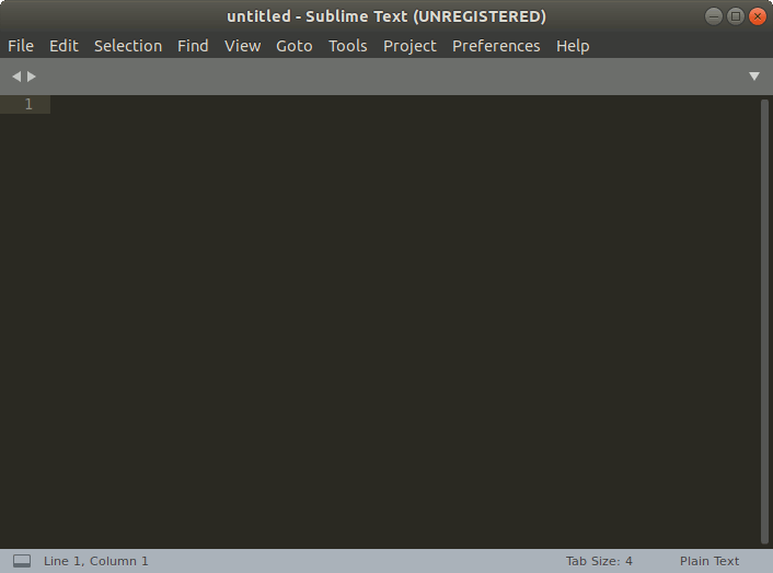 How to Install Sublime Text 3 on feren OS GNU/Linux - UI