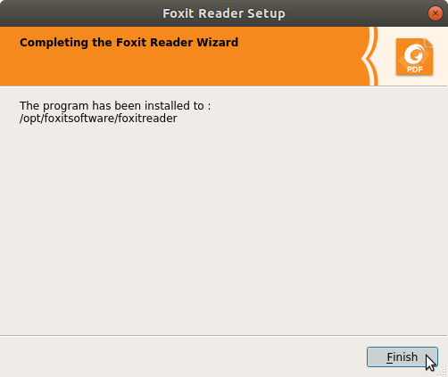 How to Install Foxit Reader on Kubuntu 14.04 Trusty - Done