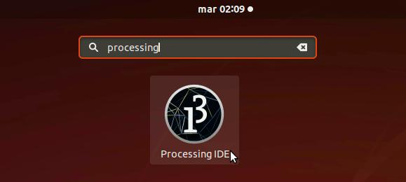 How to Install Processing 3 on Ubuntu 18.04 Bionic - Launcher