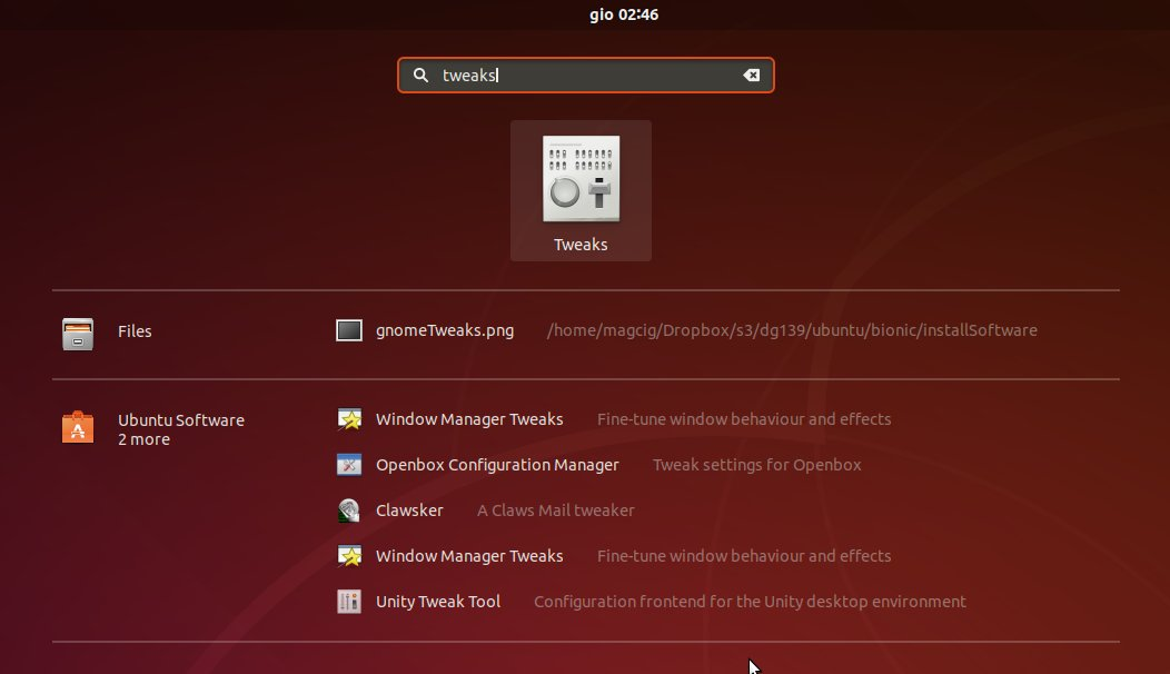 How to Change GTK Theme on Ubuntu 18.10 Cosmic - Launcher