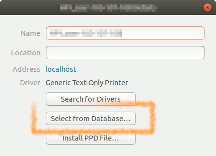 - Select Driver from Database
