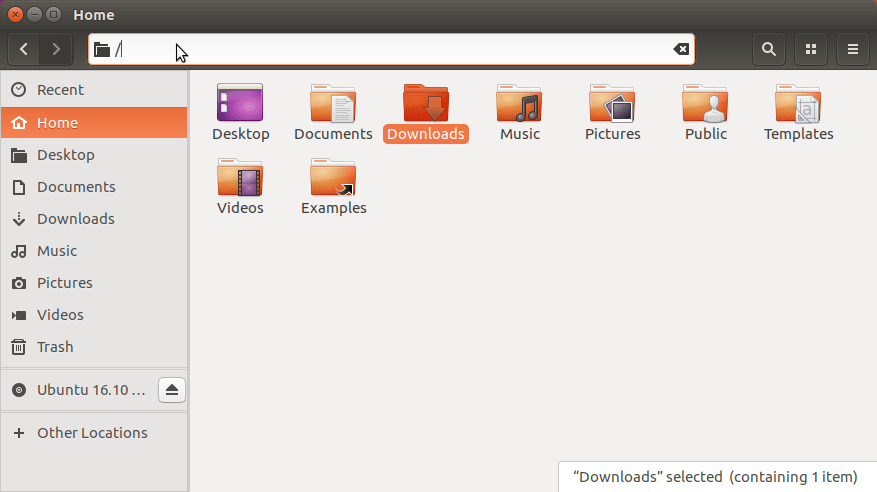 How to Access Folders & Drives in Linux Ubuntu File Manager - Accessing File System