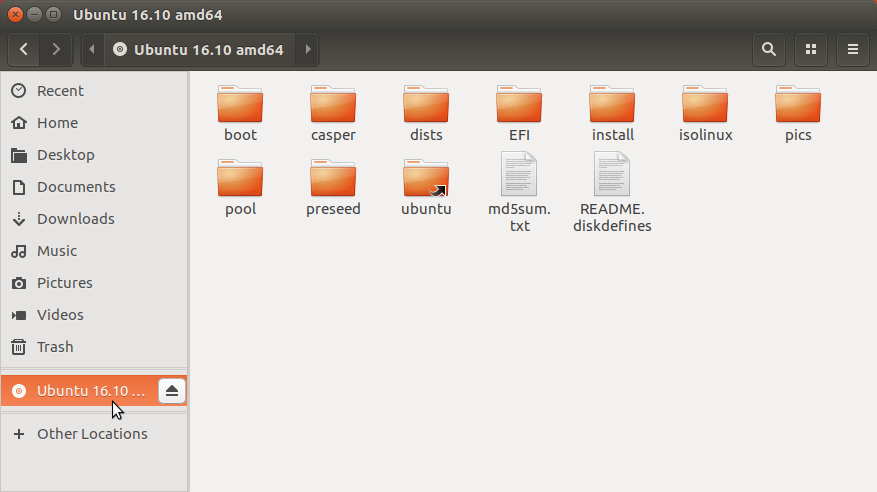 How to Access Folders & Drives in Linux Ubuntu File Manager - Accessing Drives & CD-Rom