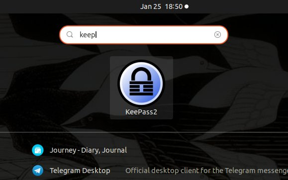 Step-by-step KeePass CentOS 7 Installation Guide - Launcher