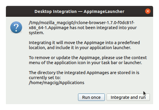 Step-by-step AppImageLauncher Kali Linux Installation Guide - AppImage Integration