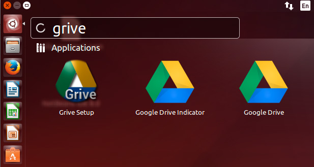 Install Google Drive Client for Ubuntu 14.10 Utopic Linux - Grive Tools Launchers