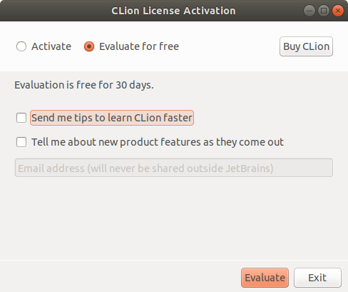 How to Install CLion on Ubuntu 14.04 Trusty - Evaluate