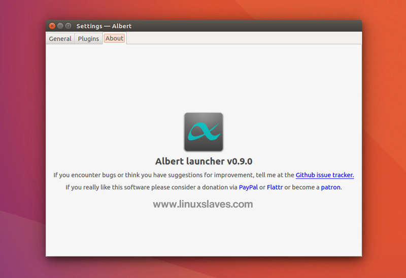 How to Install Albert on Fedora Rawhide - Albert Launcher