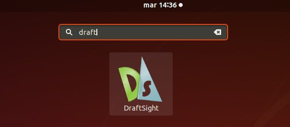 How to Install DraftSight on Ubuntu 16.04 Xenial LTS - Launcher