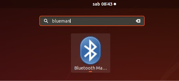 How to Install Blueman Manager on Ubuntu Based OSes - Launching
