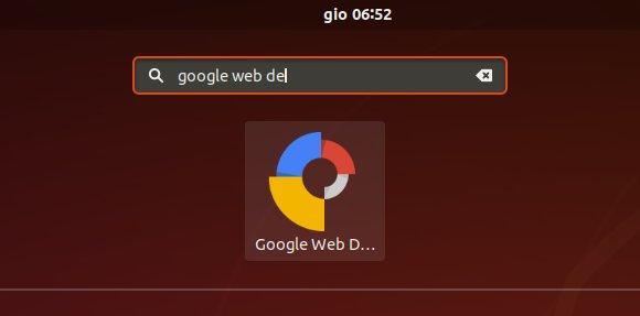 How to Install Google Web Designer in Ubuntu 18.04 Bionic LTS - Launcher