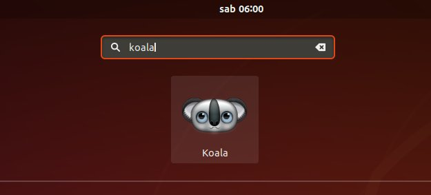 How to Install Koala in Kali - Launcher