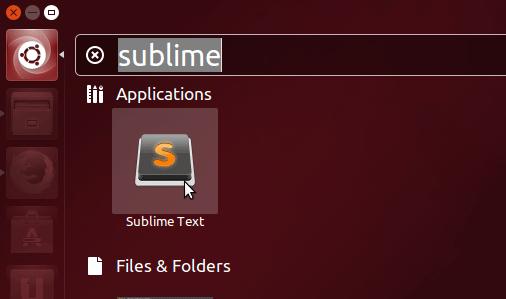 Install Sublime Text Editor Ubuntu 17.04 Zesty - Sublime Text on Ubuntu Unity Desktop
