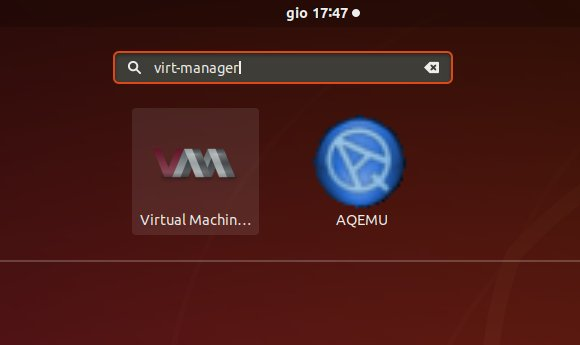 Virt-Manager Create New VM from ISO Visual Guide - Launching Virt-Manager