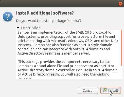 How to Enable Personal File Sharing in Ubuntu 17.10 Artful - Installing Samba