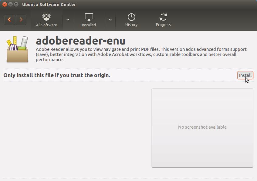 How to Install Adobe Reader on Ubuntu 17.10 Artful - Ubuntu Software Center Installing Adobe Reader