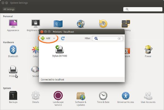 How to Add Printer Ubuntu 14.04 Trusty - Ubuntu System Settings Add Printer