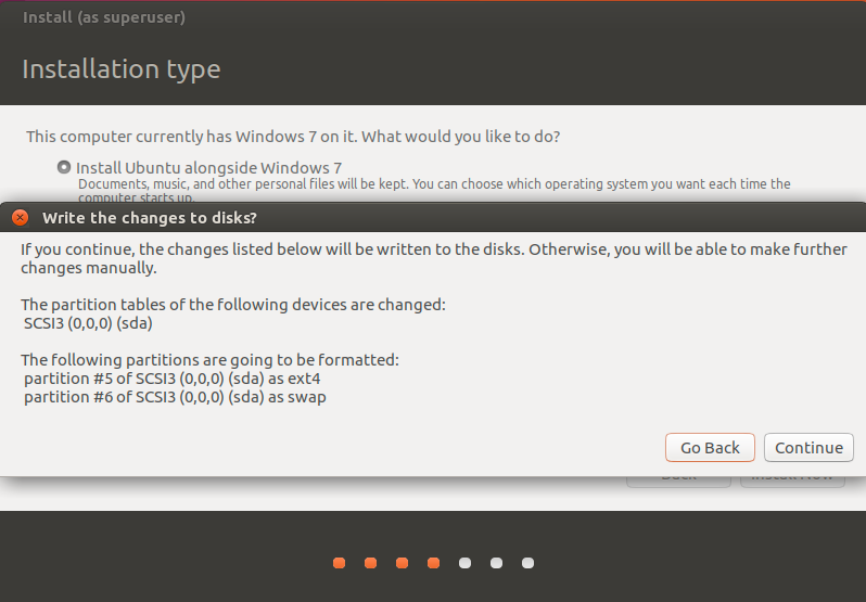 Getting-Started with Ubuntu 16.04 Xenial on Windows 7 - Easy Partitions Resizing