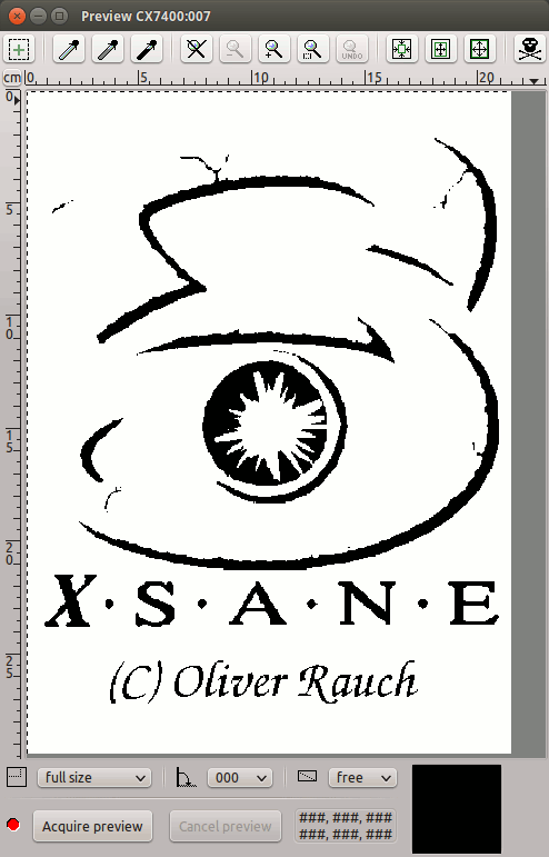 Step-by-step XSane Scanning MX Linux 19 Getting Started Guide - XSane