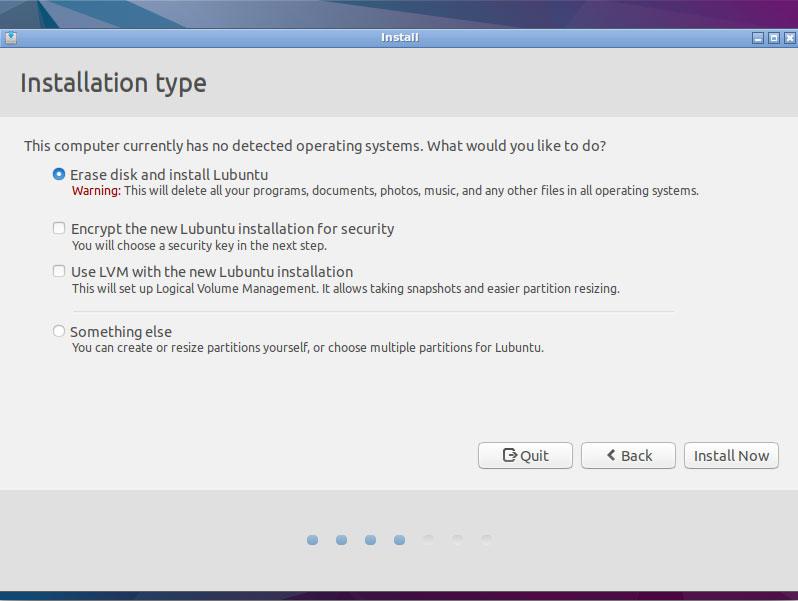 Install Lubuntu 17.10 Artful Desktop on VMware Fusion 8 Steps - Language and Keyborad Layout