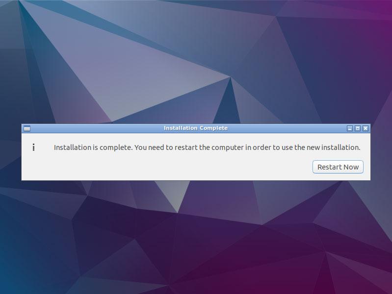 Install Lubuntu 16.04 Xenial Desktop on VMware Fusion 8 Steps - Lubuntu 16.04 Xenial Desktop Installation Successfull