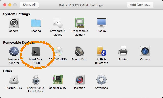 How to Create and Run a VMware Fusion Virtual Machine with Linux Live ISO - Hard Disk