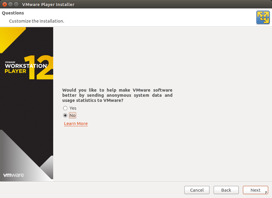 How to Install VMware Workstation Player 12 Debian 8 Jessie - Help