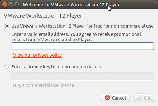 How to Install VMware Workstation Player 12 Debian 8 Jessie - Free Use