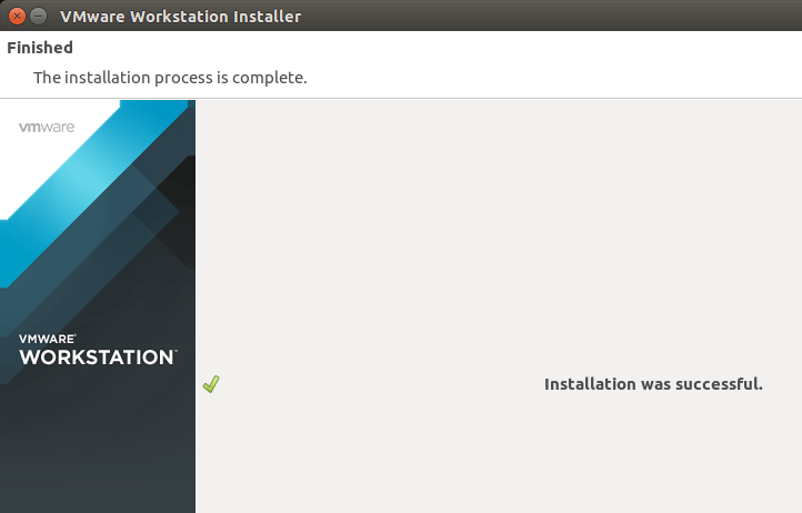 Linux Ubuntu 14.04 Trusty VMware Workstation 11 Installation - Success