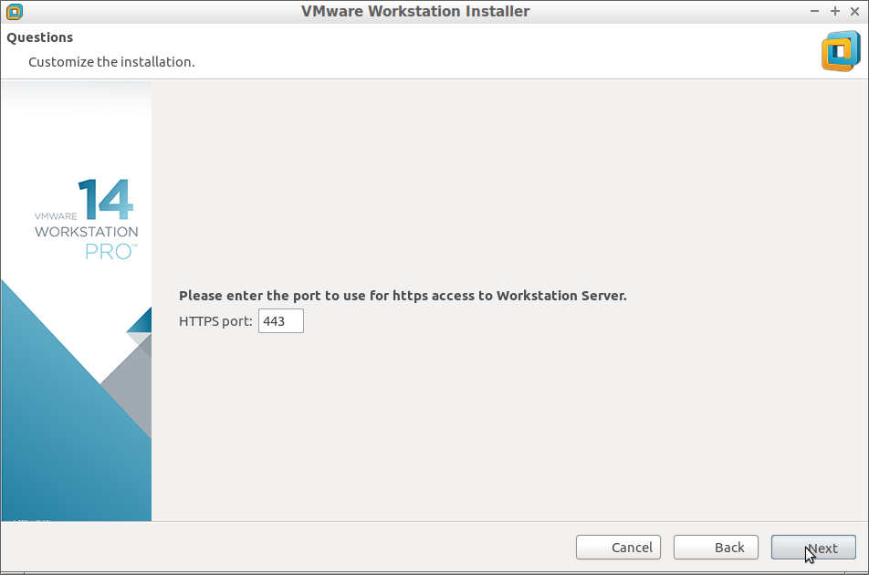 How to Install VMware Workstation 14 Pro on Debian -