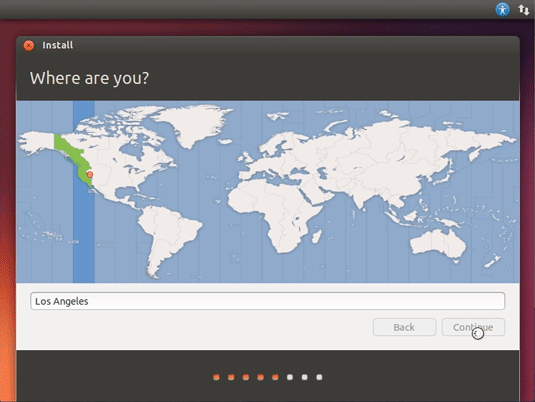How to Install Ubuntu 18.04 Dual Boot Windows 10 - Country and Time Zone