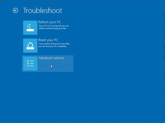 Windows 8.0 How to Disable Fast Boot and Startup from CD/DVD - Windows 8 Advanced Options
