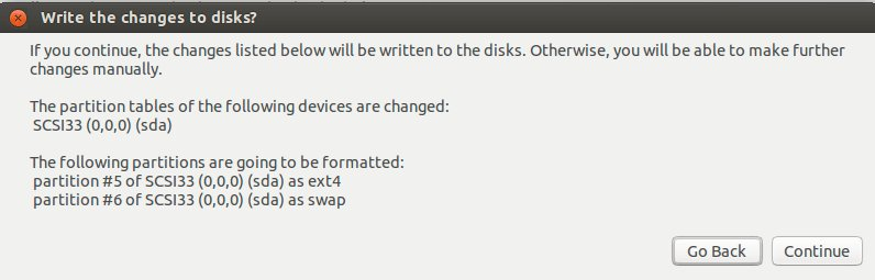Install Ubuntu 16.04 Xenial on Top of Windows 8 - Writing Changes to Disk