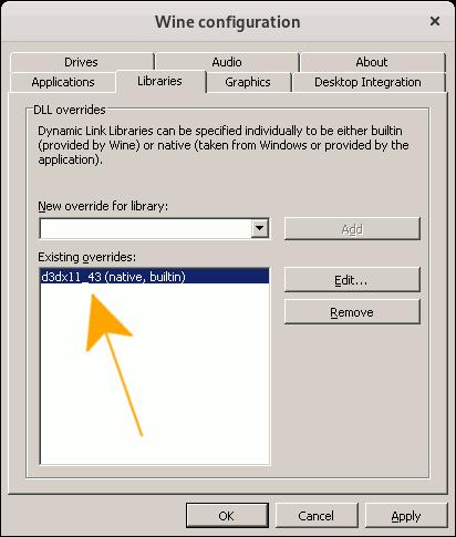 - Winecfg Windows 7