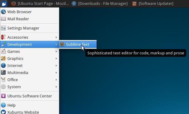 Install Sublime Text Editor Xubuntu 13.10 Saucy - Sublime Text on Xubuntu Xfce Desktop